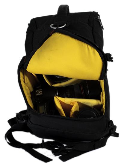 kata bag 3n1 20 review  main compartment
