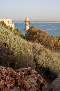 Sea Mosque. Jaffa, Israel