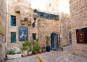 Artist's Living Quarters. Jaffa, Israel