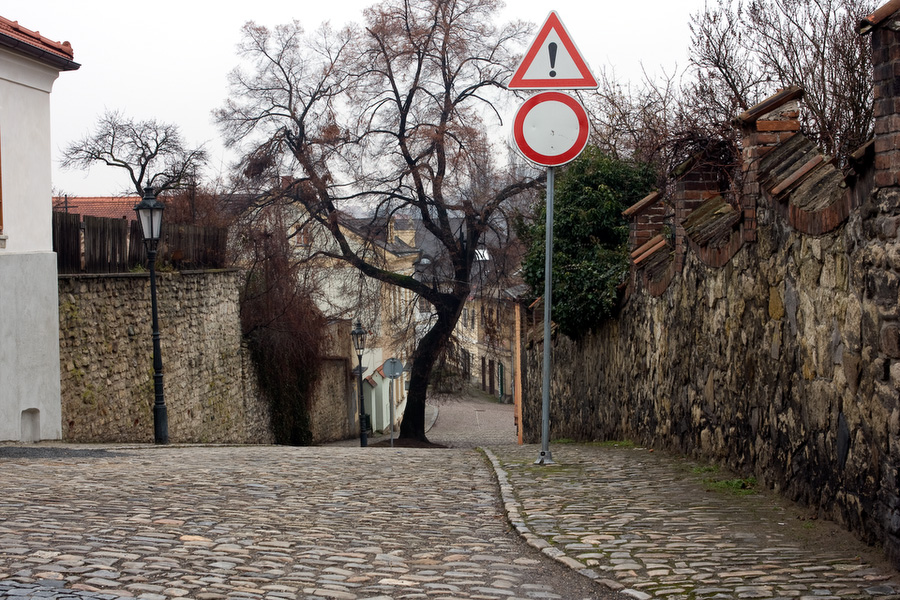 Old Town Street in Kutna Hora