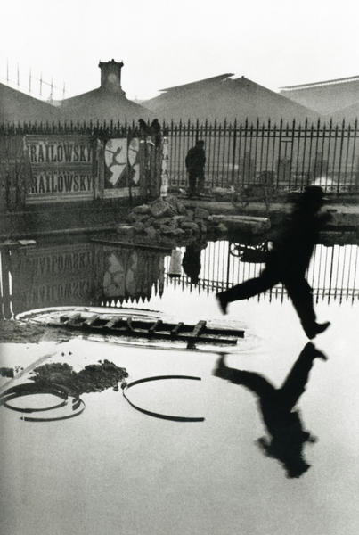 Photograph by Henri Cartier-Bresson