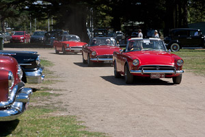 Mornington Racecourse Old Cars Exhibition