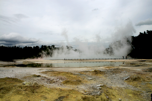 Rotorua Thermal Wonder before post processing
