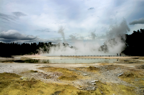 Rotorua, Thermal Wonder. North Island of New Zealand