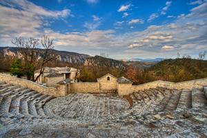 Monodendri Village Amphitheatre HDR