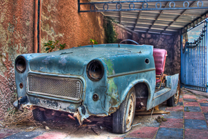 Old Car Pseudo HDR