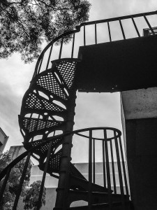 Stairway, Carlton, Victoria, Australia