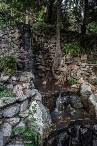 Waterfall at Alfred Nicholas Memorial Gardens