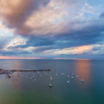Mornington Pier at sunset, Victoria, Australia