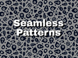 Seamless pattern hand drawn