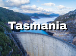 Gordon Dam in Tasmania Australia