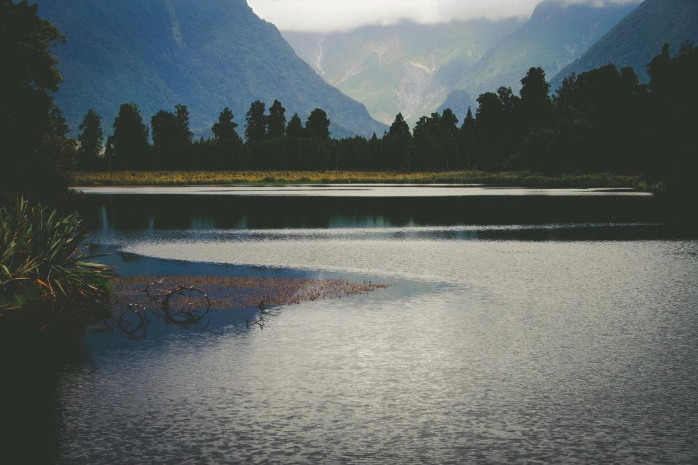 Lake Matheson, South Island, New Zealand