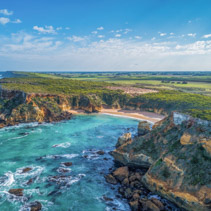 Childers Cove is one of the hidden gems of Great Ocean Road in Australia