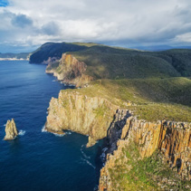 Rugged cliffs of Cape Hauy, Tasmania