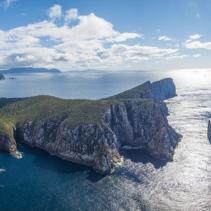 Cape Hauy aerial panorama, Tasmania.