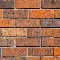 Red and orange bricks wall backdrop