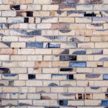 Decorative brick wall abstract background