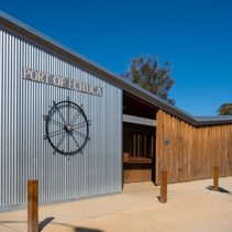 Entrance to the Port Of Echuca Discovery Centre