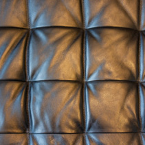 Checkered faux leather texture background