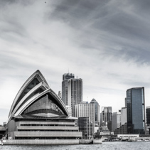 Sydney's Skyline with the Opera House at the foreground