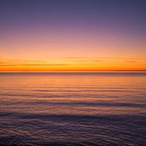 Sunset over Mornington Peninsula, Australia