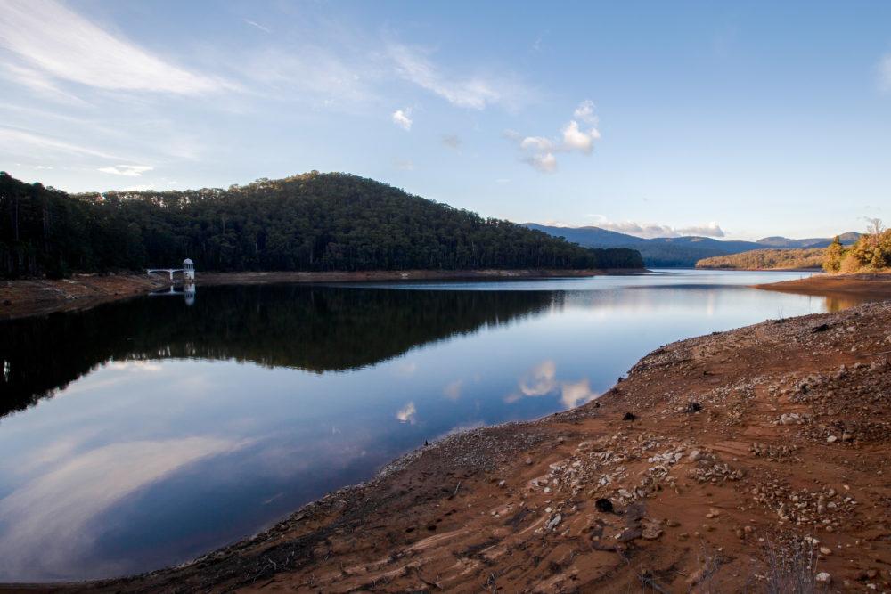 Maroondah Reservoir Lake Lake at sunset