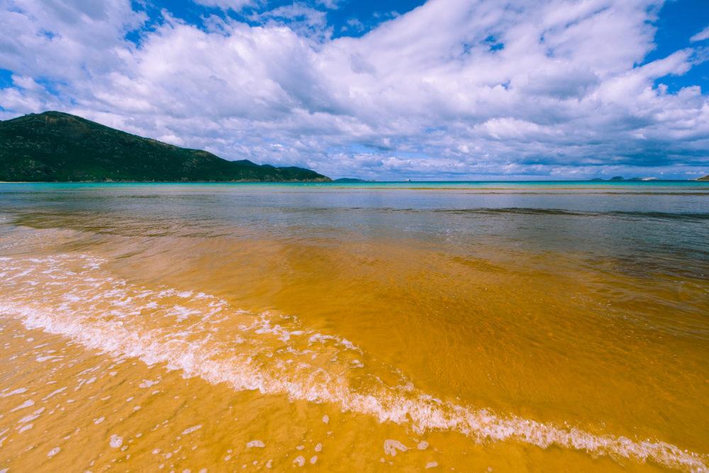 Tidal river beach landscape, Wilsons Promontory National Park, A