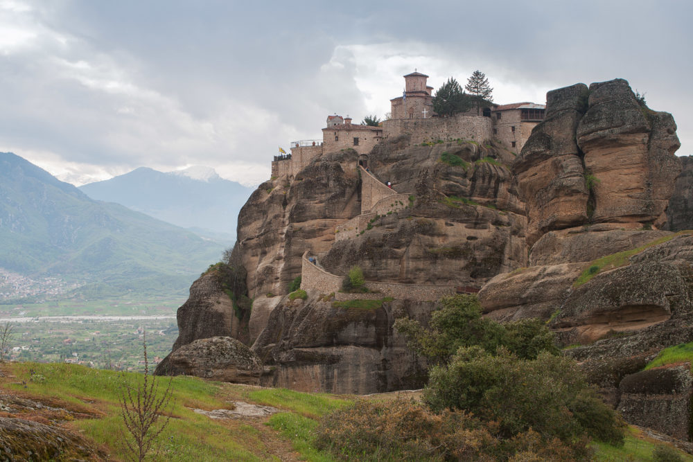One of the famous Meteora Monasteries, Greece