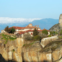 Monastery in Meteora, Greece