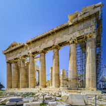 Parthenon under restoration, Acropolis, Greece