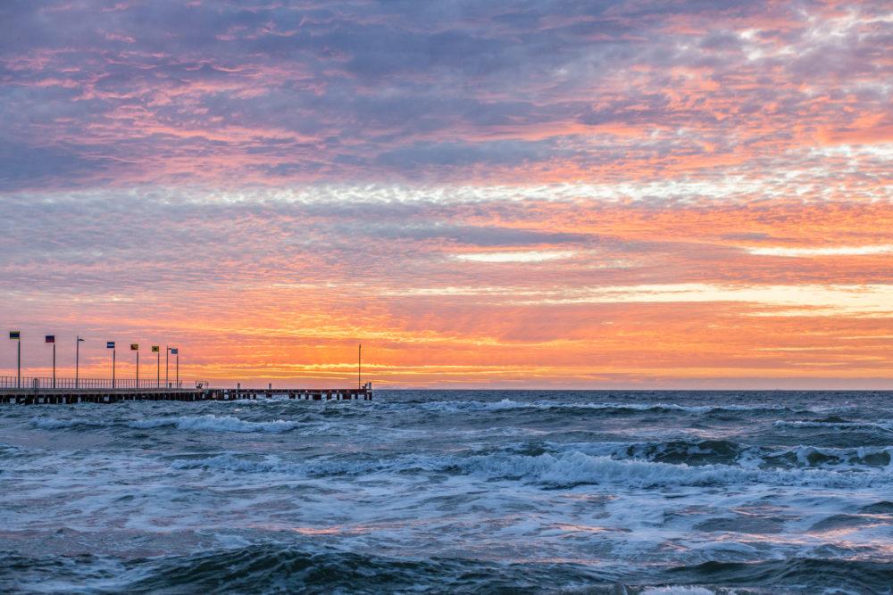 Intence Sunset over Mornington Peninsula