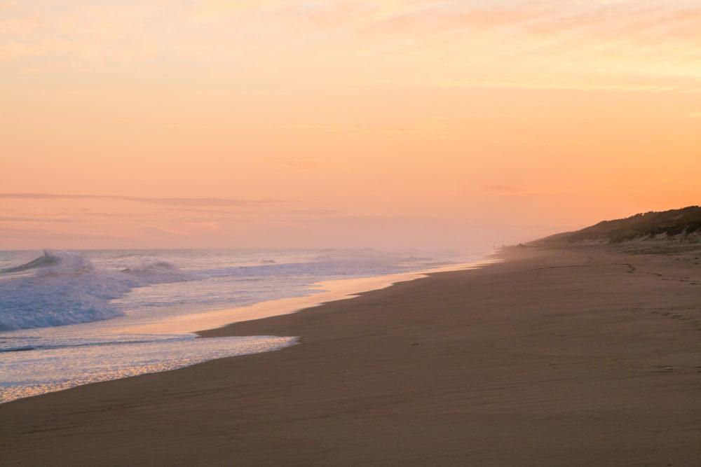 Beautiful Golden Sunrise at 90 Miles Beach