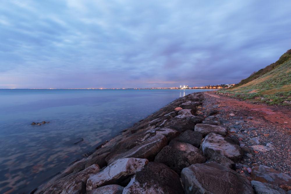 Beach Landscape at dusk