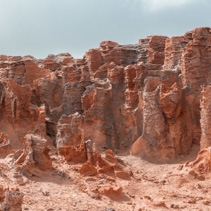 Unusual rock formations at Petrified Forest