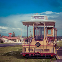 Portland Cable Tram at the War Memorial Station
