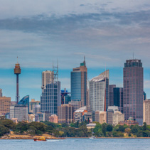 Sydney CBD skyline