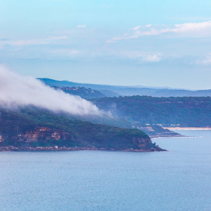 Coastal landscape near Sydney, New South Wales, Australia