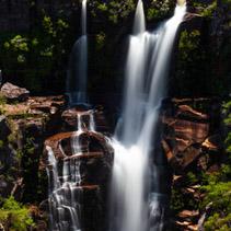 Beautiful waterfall in Australia