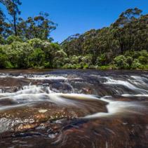 Kangaroo river in New South Wales, Australia
