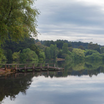 Small Jetty at Tranquil Daylesford Lake