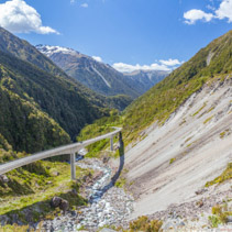 Otira Viaduct, Arthur's Pass, Canterbury, New Zealand