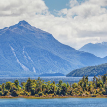 Lake Manapouri and surrounding Mountains, Fiordland, South Island, New Zealand