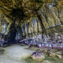 Magnificent Cathedral Cave, Catlins, South Otago, South Island,New Zealand