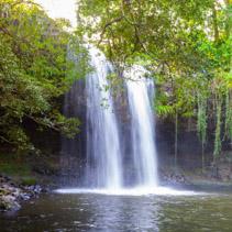 Killen Falls - beautiful waterfall near Byron Bay, New South Wales, Australia