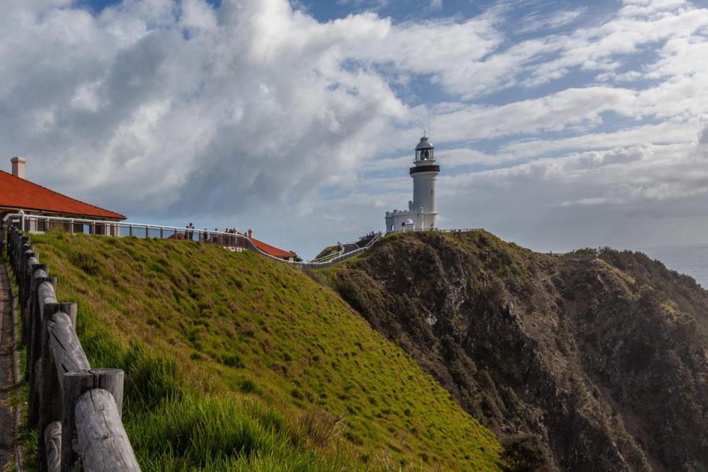 Cape Byron Light - most powerful lighthouse in Australia. Byron Bay, NSW, Australia