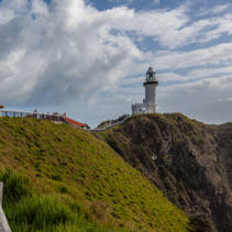 Cape Byron Light - most powerful lighthouse in Australia. Byron Bay, NSW, Australia