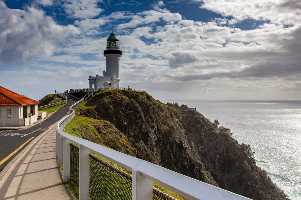 Cape Byron Lighthouse - famous landmark in New South Wales, Australia