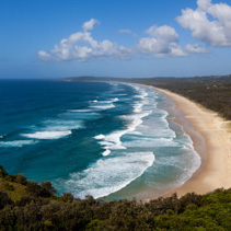 Tallow Beach in Byron Bay, New South Wales, Australia