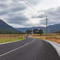 Scenic Rural road, NSW, Australia