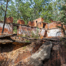 Newnes Shale Oil Ruins near Lithgow